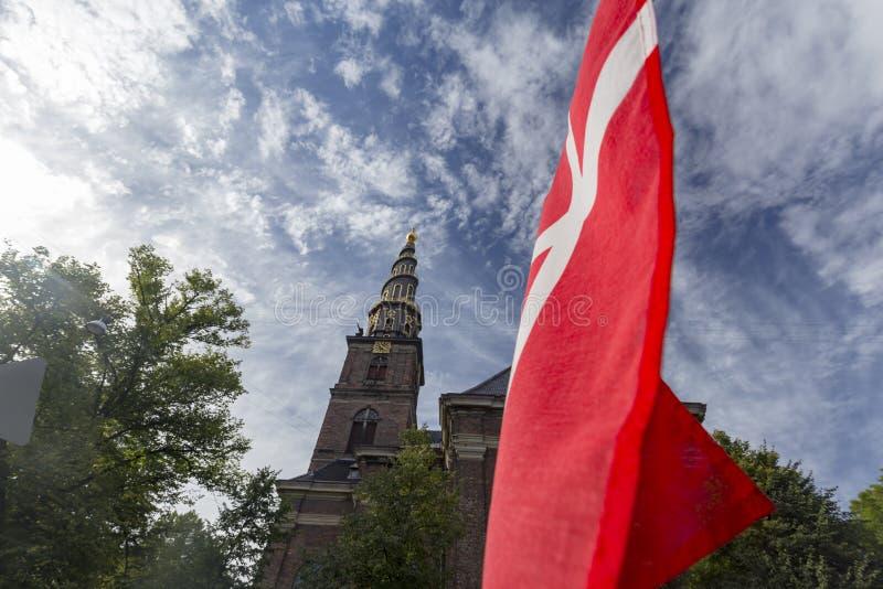 Датская гордость стоковые изображения