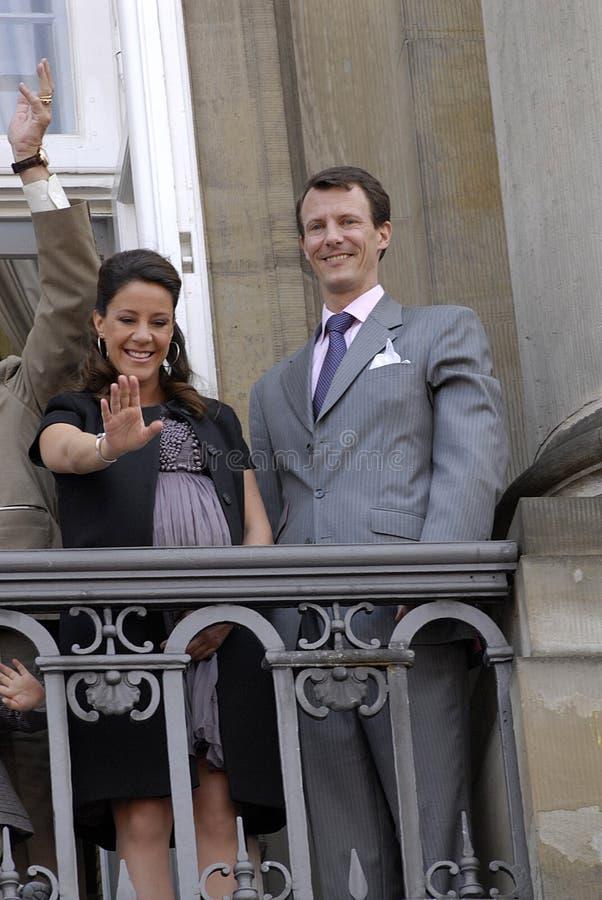 датская семья королевская стоковые изображения rf