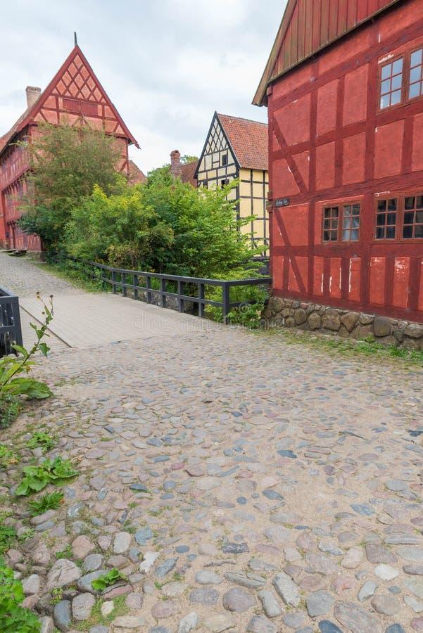датские дома стоковое изображение rf