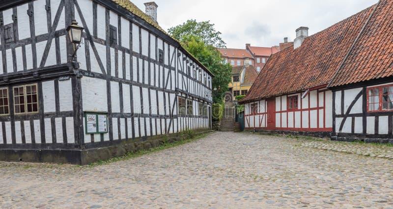 датские дома стоковые изображения