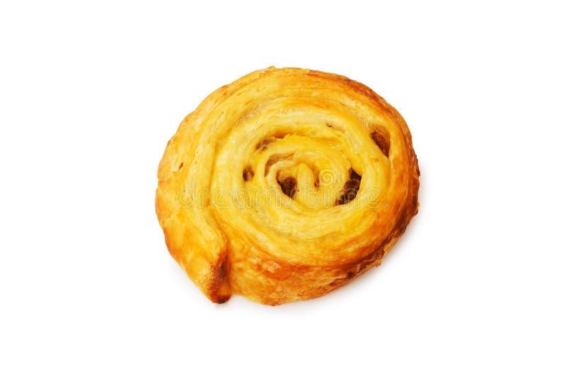 датское свежее изолированное печенье стоковая фотография