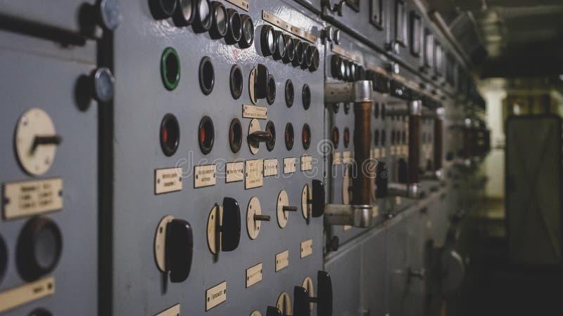 Датчик и контроль электрических частей стоковая фотография rf