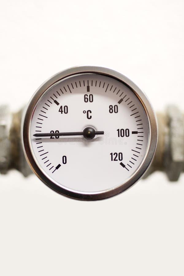 Датчик температуры стоковые фото