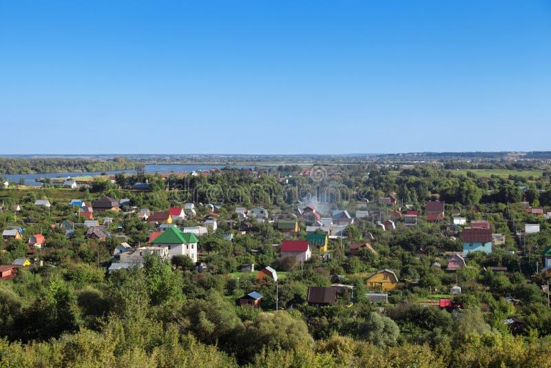 Дача около Москвы стоковое изображение