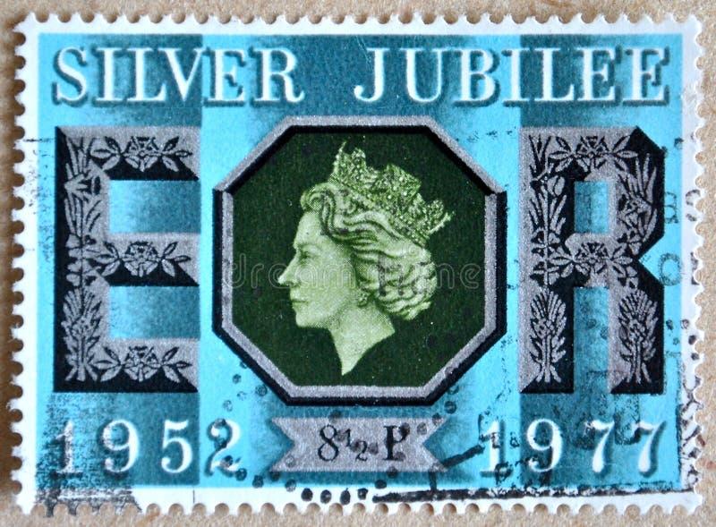 Двадцатипятилетний юбилей стоковое изображение