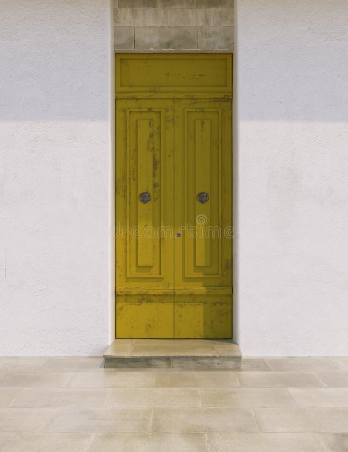 Двери в ярких цветах стоковые фотографии rf