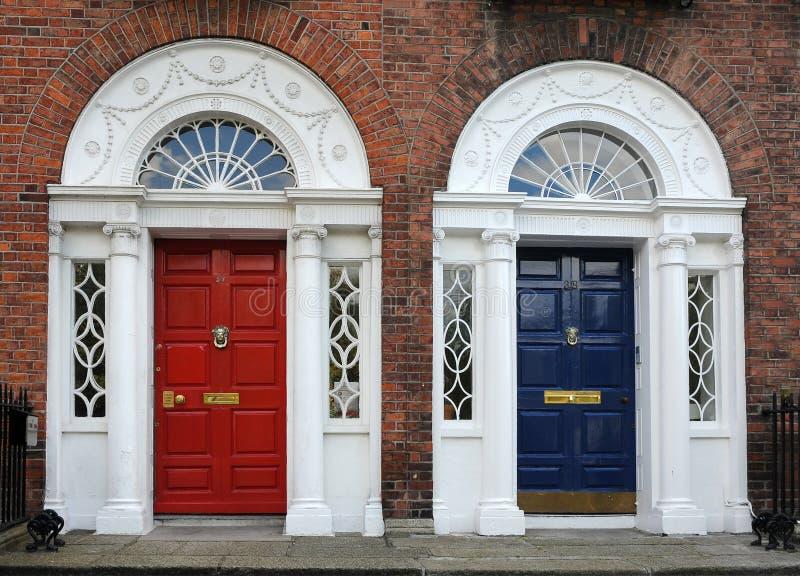 Двери Дублин стоковые фото