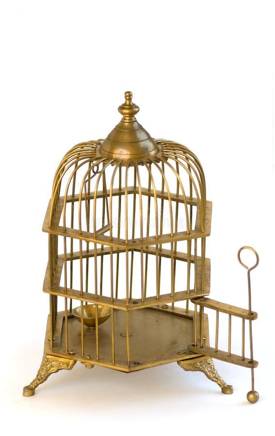 двери клетки birdcage богато украшенный латунной открытое