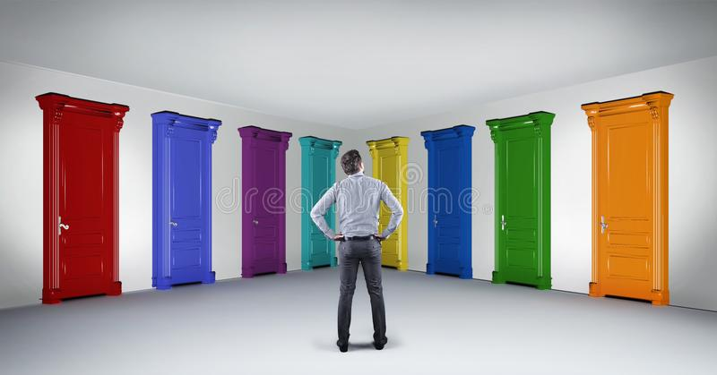 Двери отборные стоковые изображения rf