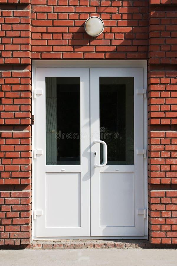 двери пластичные стоковая фотография