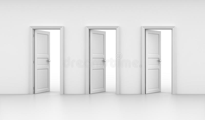 двери раскрывают 3 бесплатная иллюстрация