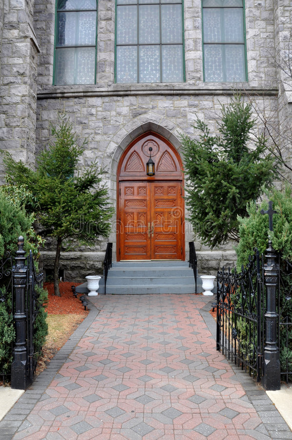 двери церков исторические стоковые изображения rf