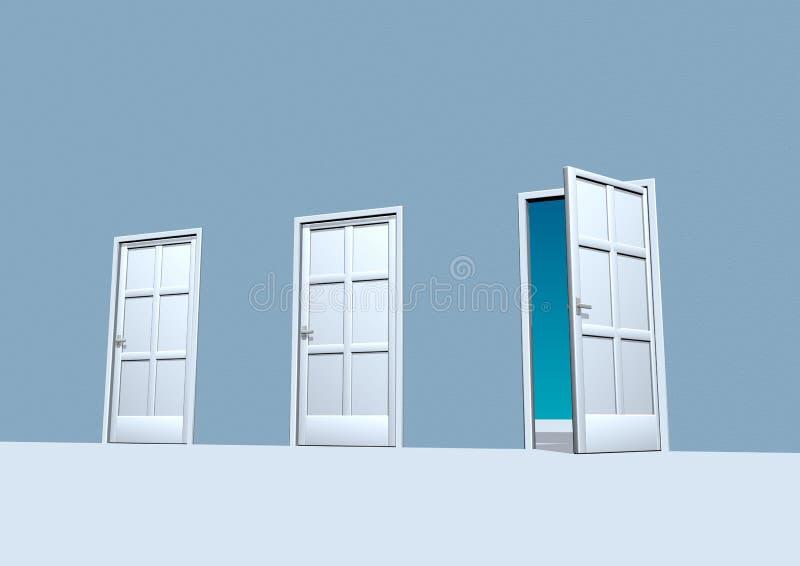 двери иллюстрация штока