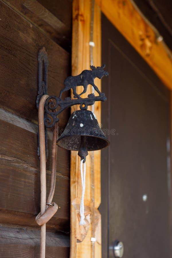 Дверной звонок с диаграммой лосей стоковое изображение rf