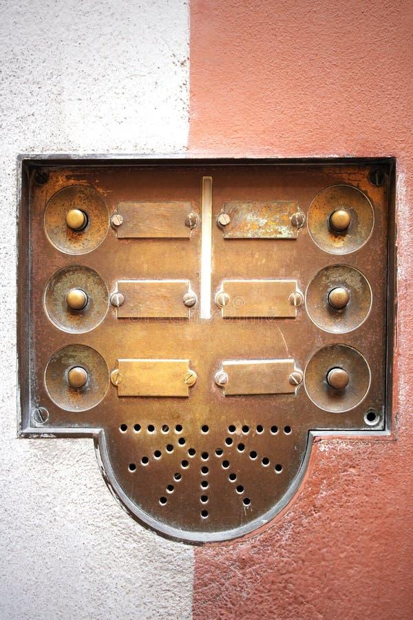 дверной звонок стоковая фотография