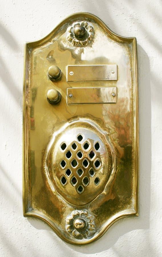 дверной звонок стоковые фотографии rf