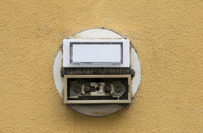 Дверные звоноки стоковая фотография rf