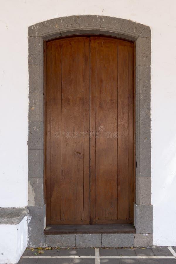 Дверь Брайна в Gran Canaria, Испании стоковые фото