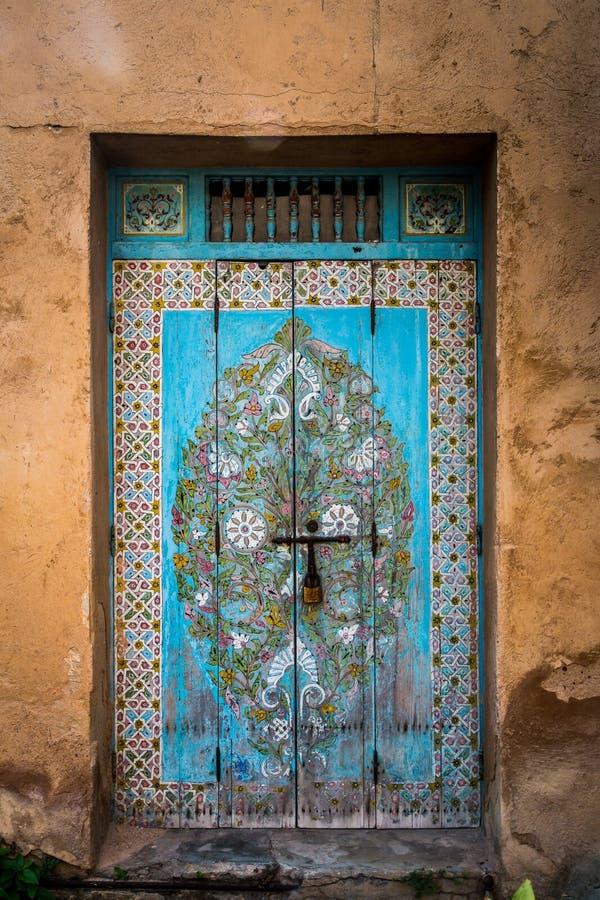 Дверь в Марокко стоковые фото