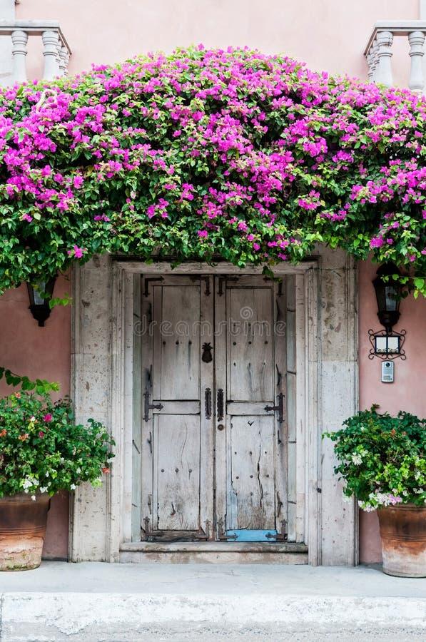Дверь в Мексике стоковая фотография rf