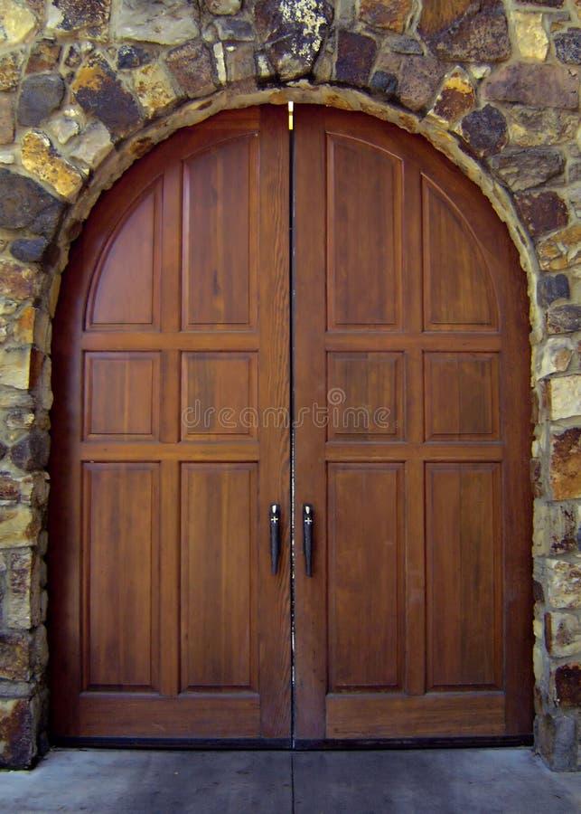 дверь деревянная стоковое изображение