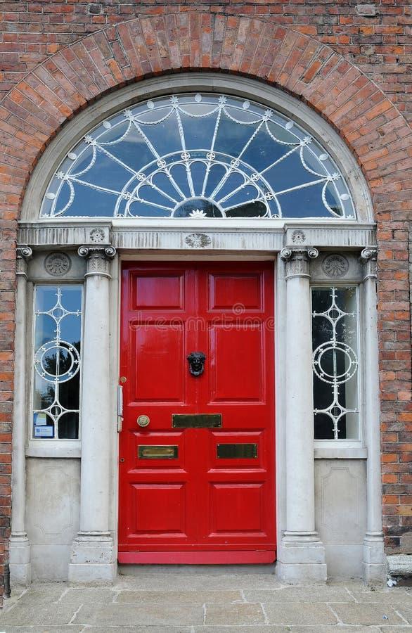 Дверь Дублин стоковые изображения