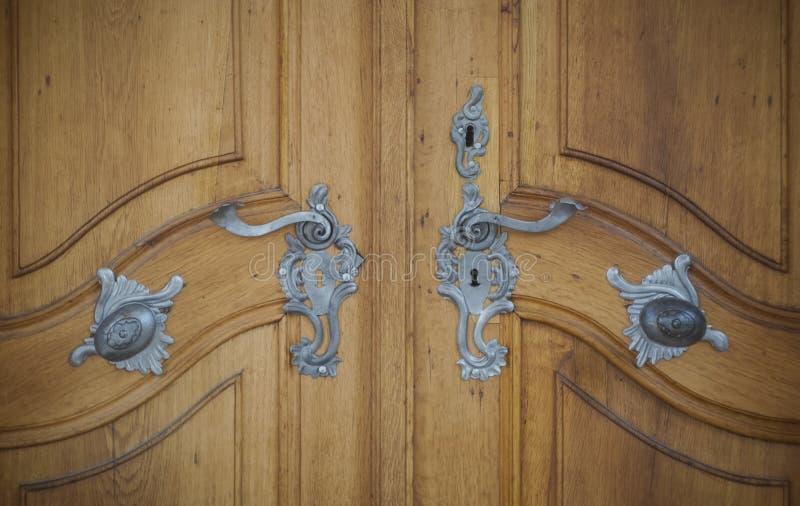 Дверь замка стоковая фотография rf
