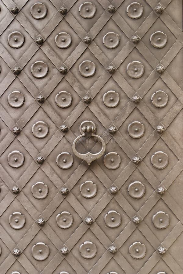 дверь замока средневековая стоковая фотография rf