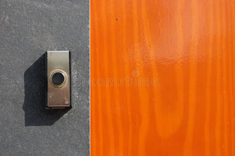 дверь колокола стоковые изображения rf