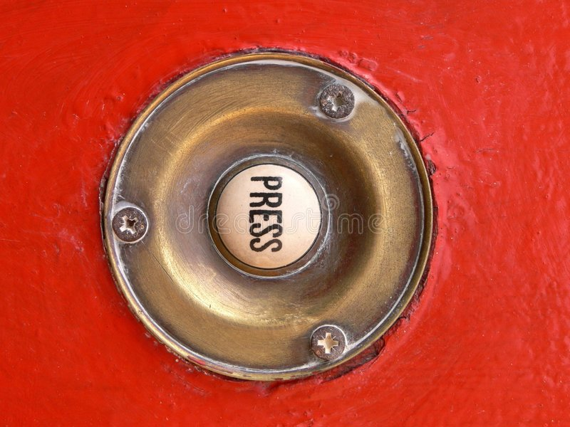 дверь колокола стоковое фото rf