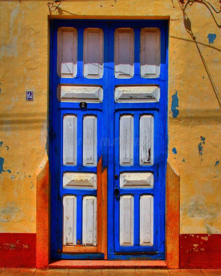 Дверь Куба стоковые изображения rf