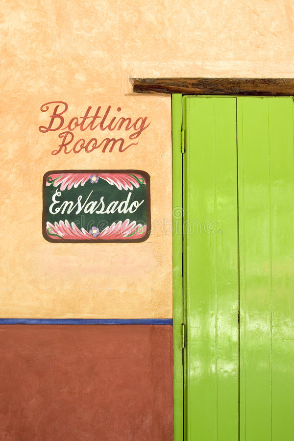 дверь Мексика яркого дела цветастая стоковые фотографии rf