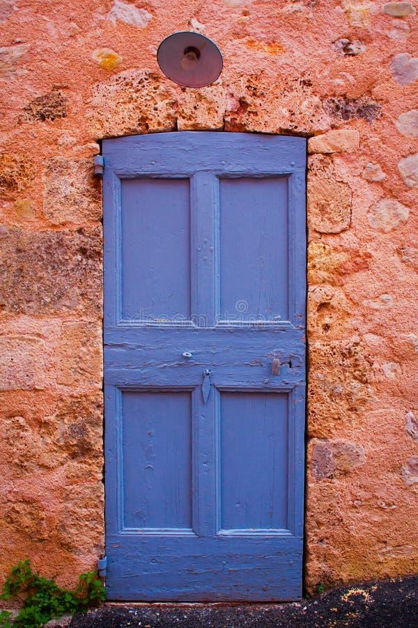 Дверь Провансали стоковая фотография