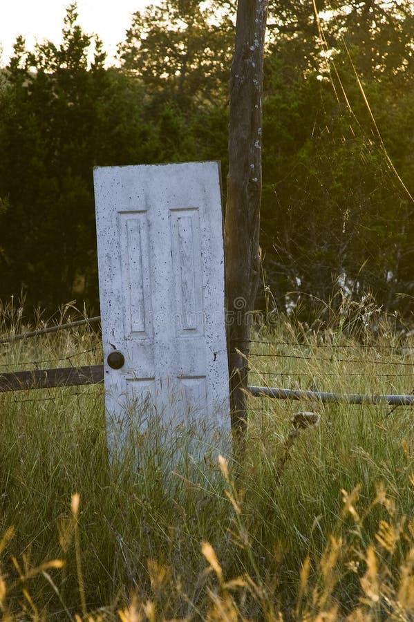 дверь снаружи стоковое фото