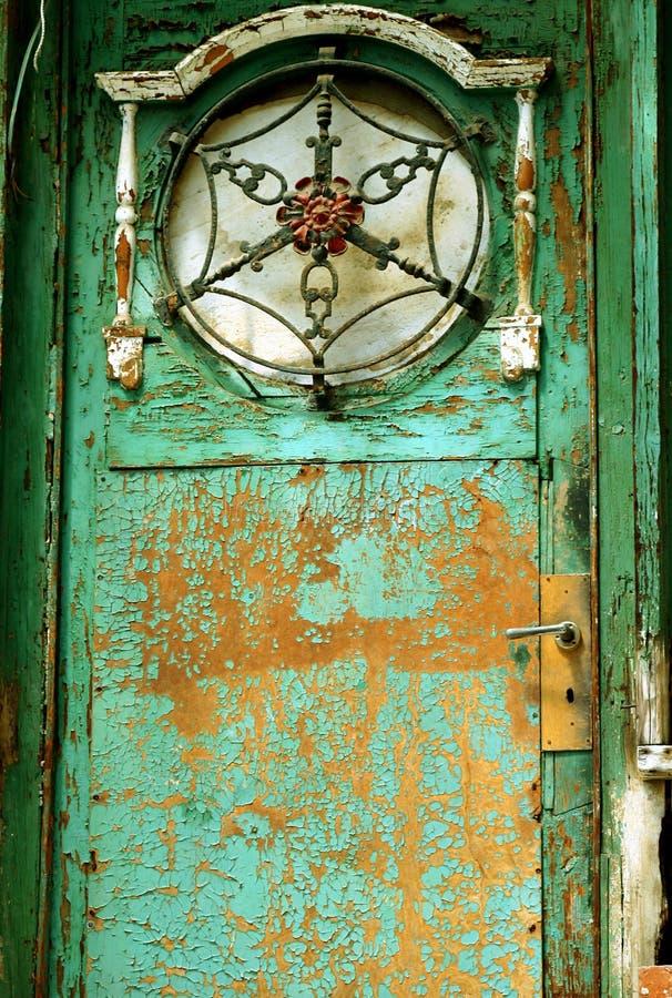 дверь старая стоковое изображение rf