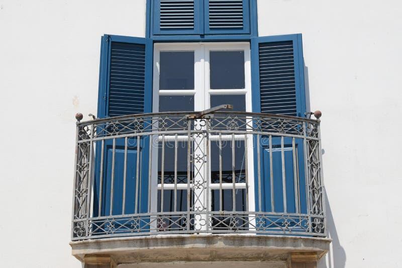 Дверь стекла веранды стоковые изображения