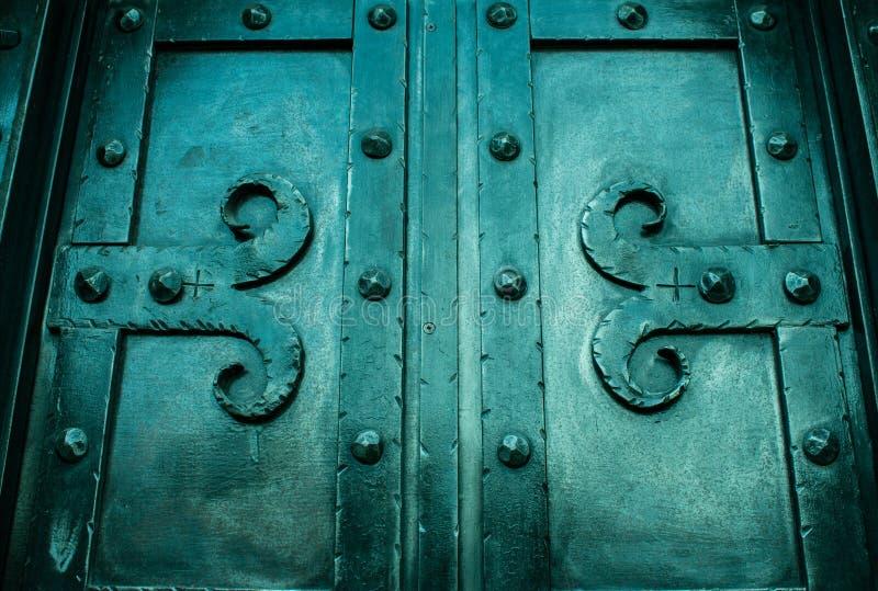 Дверь утюга стоковое изображение