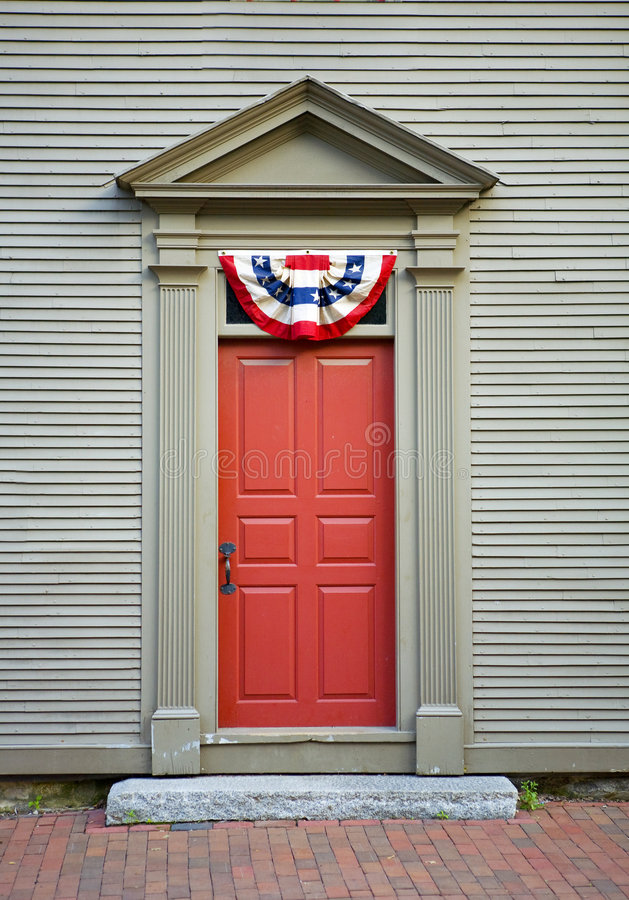 дверь фасонировала независимости старый swag стоковая фотография rf