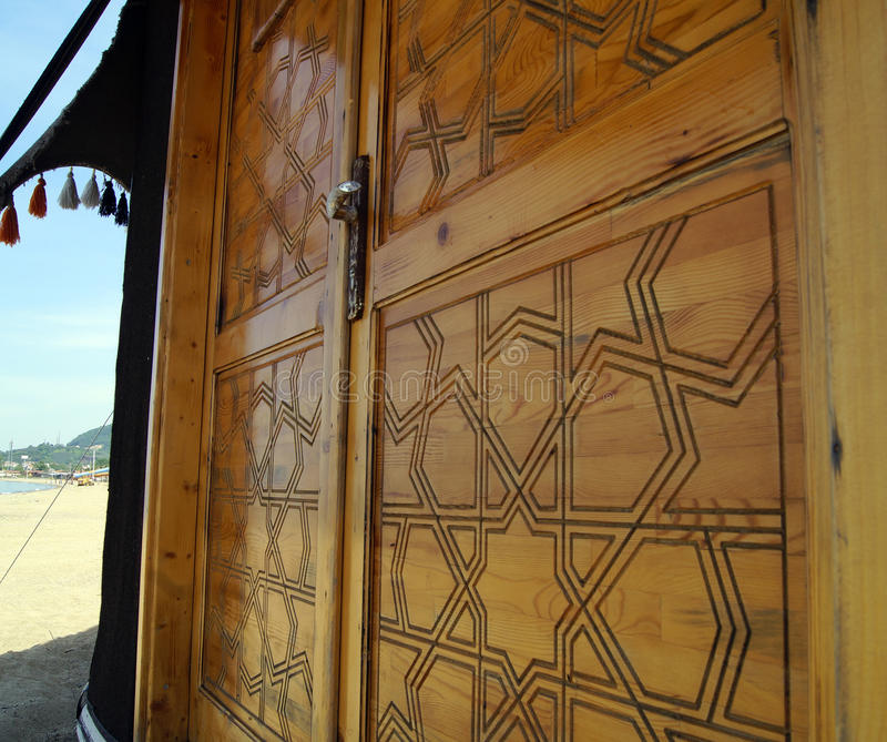Дверь шатра стоковая фотография rf