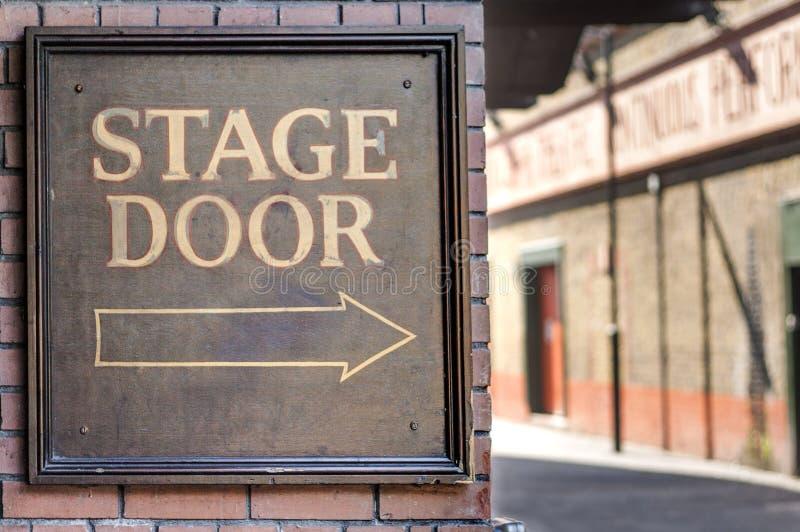 Дверь этапа стоковые фото