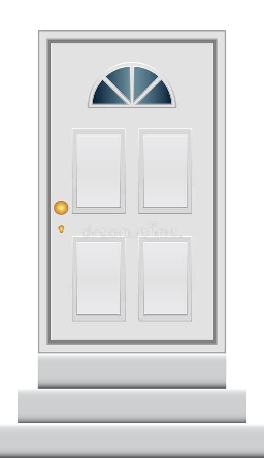 дверь иллюстрация штока