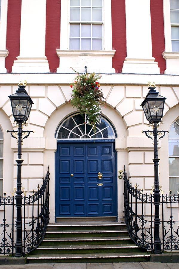 дверь georgian стоковое изображение rf