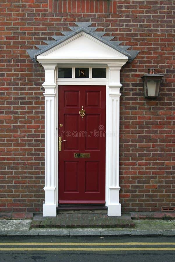 дверь georgian стоковые изображения rf