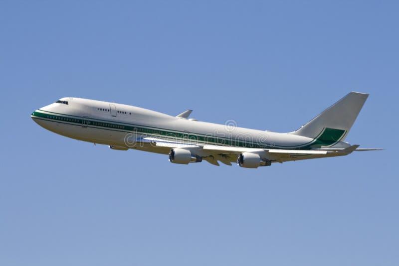 двигатель авиалайнера bodied широкий стоковые фото