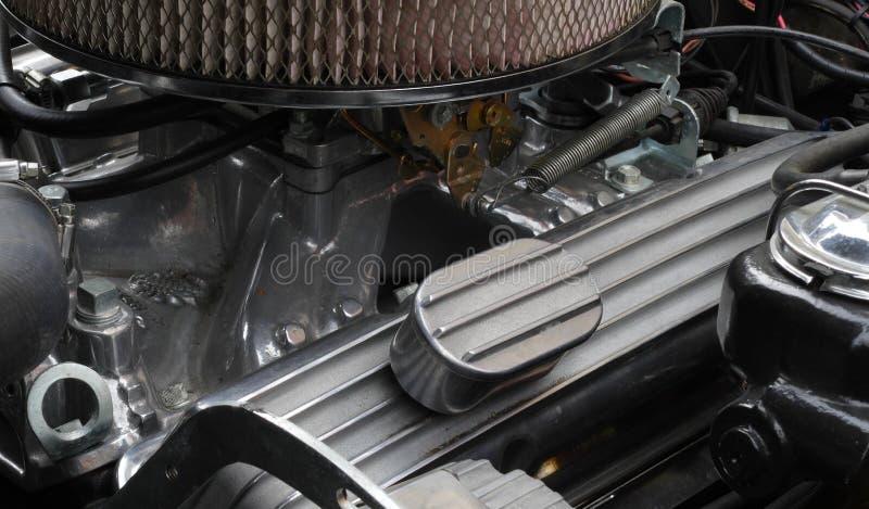 Двигатель автомобиля Oldtimer стоковое изображение rf