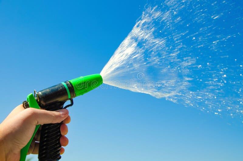 Двигатель брызга воды стоковые изображения rf