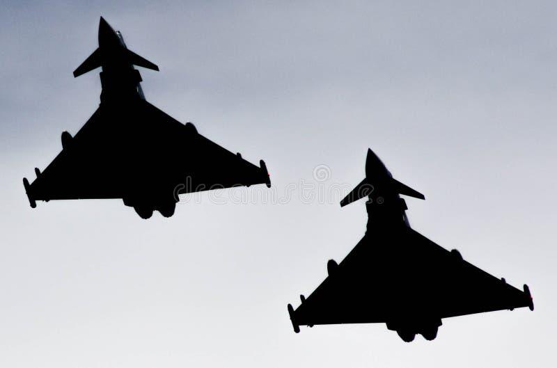 Двигатель Eurofighter тайфуна стоковое фото rf