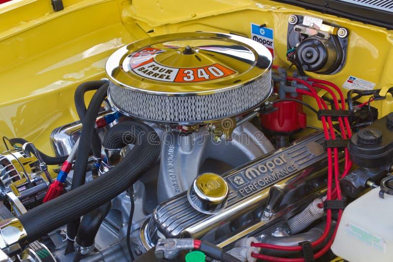 Двигатель Mopar 340 стоковое изображение rf