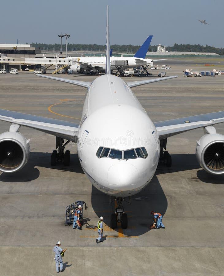 двигатель narita японии авиапорта воздушных судн стоковые изображения rf