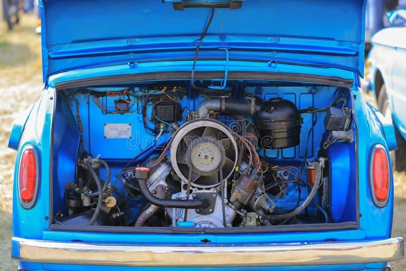 Двигатель автомобиля ZAZ-965 стоковое фото